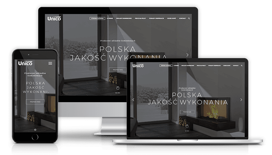 Strona internetowa dla dentystów