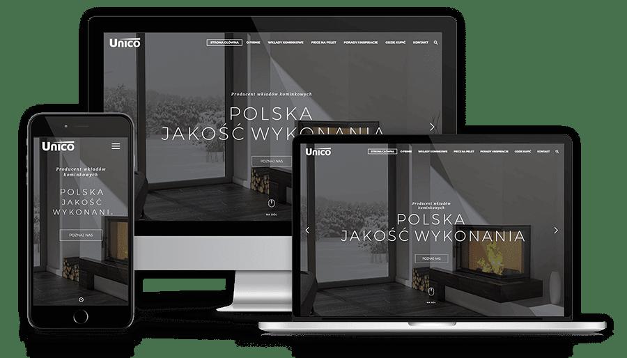 Strona internetowa dla drukarni