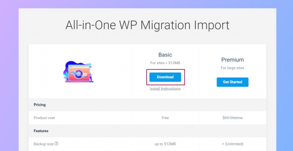 Jak zwiększyć limit przesyłanego pliku All in One WP Migration